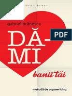 Da-Mi Banii Tai - Gabriel Branescu-Fragmente