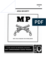 Military Police MP 1002 Area Security