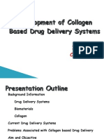 Collagen based Drug Delivery