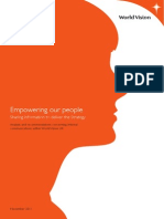 World Vision UK - Empowering Our People