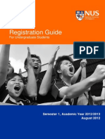 Registration Guide for Undergraduate Students