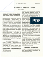 2.7 General Practice - The Radiological Features of Pulmonary Oedema. j.a. Beyers