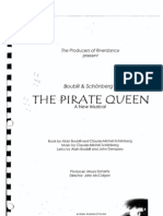The Pirate Queen Libretto