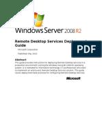 78156225 Remote Desktop Services Deployment Guide