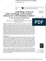 Dynamic Modelling of Fiscal