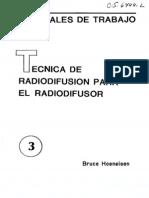 LIB. TECNICA DE RADIODIFUSION PARA EL RADIODIFUSOR – Bruce Hoeneisen