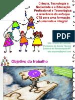 ApresentaçãoTECSOC_CTS