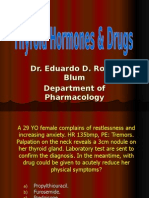 Thyroid Hormones & Drugs