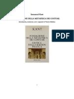 122770549 Kant Fondazione Della Metafisica e Dei Costumi Trad Mathieu Ed Rusconi