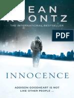 An extract from Dean Koontz's new supernatural thriller, INNOCENCE