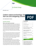 Grantham Briefing Paper_Carbon Capture Technology_November 2010
