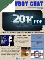 McNeese Student Housing Newsletter January 2014