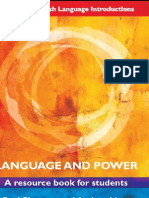 82820464 Language and Power a Resource Book for Students Escrito Por Paul Simpson Andrea Mayer