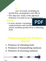 Acoustics Presentation