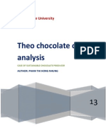 Theo Chocolate Case study Analysis