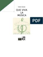 Caicedo Andres - Que Viva La Musica