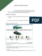 Ejemplo de Una Interfaz Usando Wpf