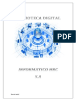 Biblioteca Digital(Informe)
