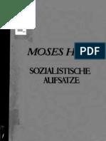 Moses Hess Sozialistische Schriften