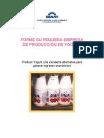 Forme Su Propia Empresa de Produccion de Yogur