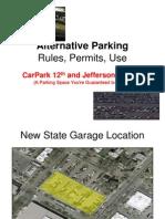 Alternative Parking