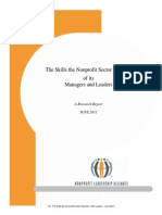 1 a- the skills the nonprofit sector requires of its leaders - june 2011