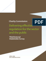 Charity Commission - Delivering Effective Regulation for the Sector and the Public