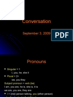 Conversation Unit 1