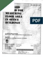 BOMA-Measuring Floor Areas