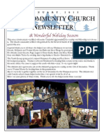 Newsletter, Jan 14