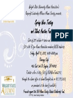 6 f- wsu wine tasting invitation