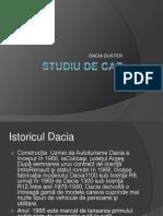 Studiu de Caz Dacia
