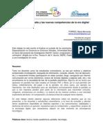 017 La Lectura en Pantalla y Las Nuevas Competencias de La Era Digital