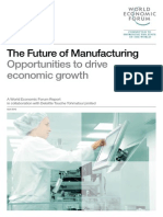 World Economic Forum FutureManufacturing Report 2012