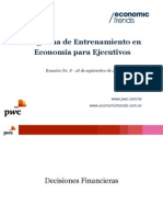 Economía para Ejecutivos M1 - Reunión 8
