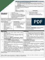 Metodos de Investigacion en Psicopatologia - Esquema Resumen