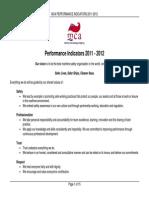 Performance Indicators 4