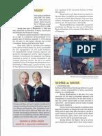George Wood 1998 North Shore Mayoral Brochure