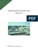 Managing Sedimentation in Spate Irrigation Schemes