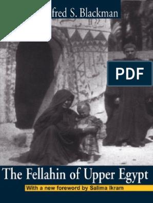 Blackman_The Fellahin of Upper Egypt | Anthropology | Egypt