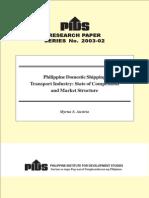Austria - Philippine Domestic Shipping Industry