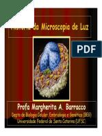 Biologia - Historia Da Microscopia