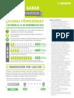 Dos para ganar - 2014 Programa de incentivos para patrocinios