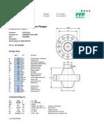 Design Calculation Anchor Flange - ASME VIII Div 1 App.2