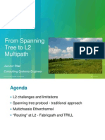 CISCO - From Spanning Tree to L2 Mulipath