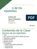 Analisis de Hechos de Los Apostoles