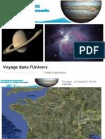 Presentation de La France a l Univers