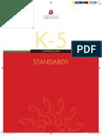 ADEC Standards K 5