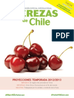 Cerezas Chile e