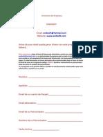 B-Formulario Del Programa